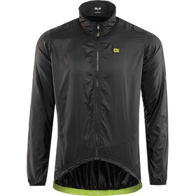 Alé Cycling Guscio Light Pack Jacket Herre black